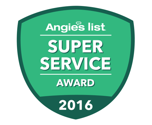 J. P. Frisch Construction Services Angie's List Award